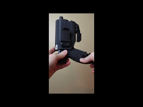 FDO Industries Holster for CZ P10C and Olight Baldr Mini #Shorts