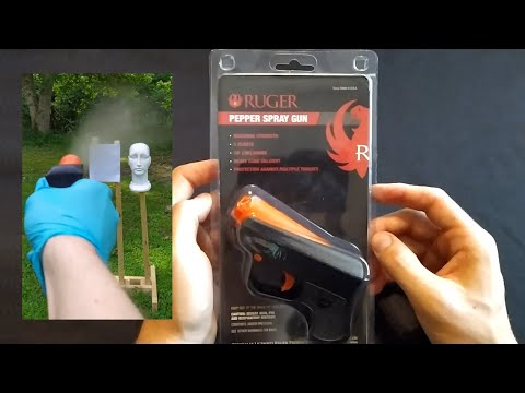 Ruger Pepper Gun - Tested and Reviewed